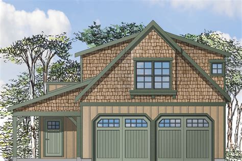Garage Apartment Plans by Craftsman House Plans Garage W Apartment 20 119