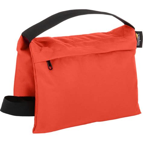 B Lb Orange impact saddle sandbag 15 lb orange sbf o 15 b h photo