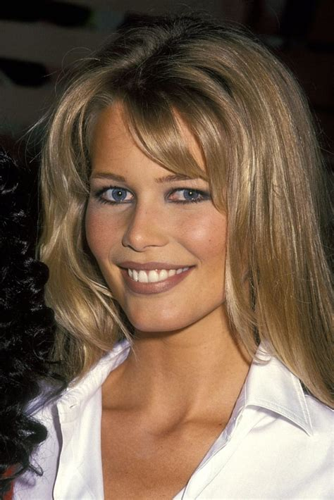 hairstyles for front cowlicks claudia shiffer les plus grandes ic 244 nes beaut 233 des ann 233 es 90 vanity fair