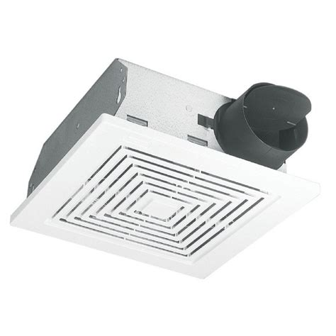 lowes bathroom exhaust fans broan 3 sone 50 cfm white bath fan lowe s canada