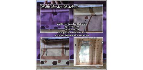 Gorden Gordyn Korden Tirai Blackout 100 Import Original 23 katalog kain gorden blackout terbaru model gorden rumah