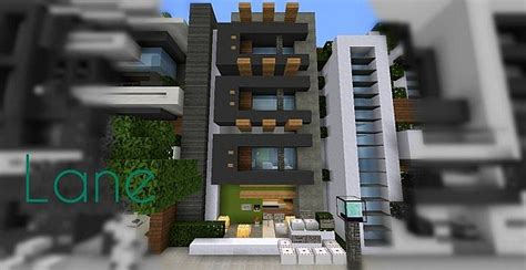 minecraft town houses lane modern townhouse minecraft project