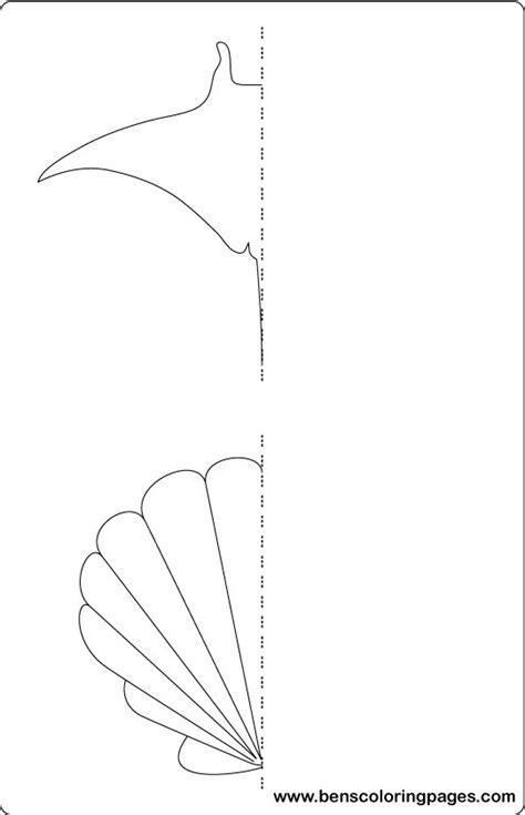 symmetry coloring kindergarten coloring pages