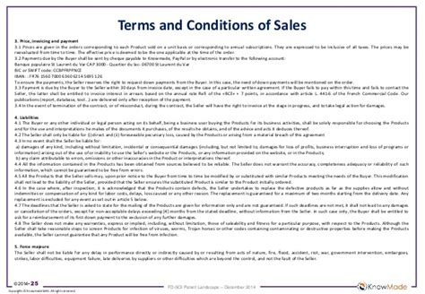 payment terms and conditions template sle fd soi patent landscape