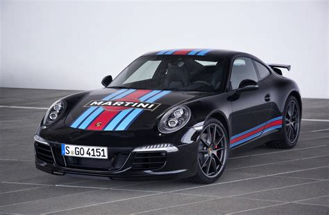 martini porsche special edition porsche 991 s martini racing revealed