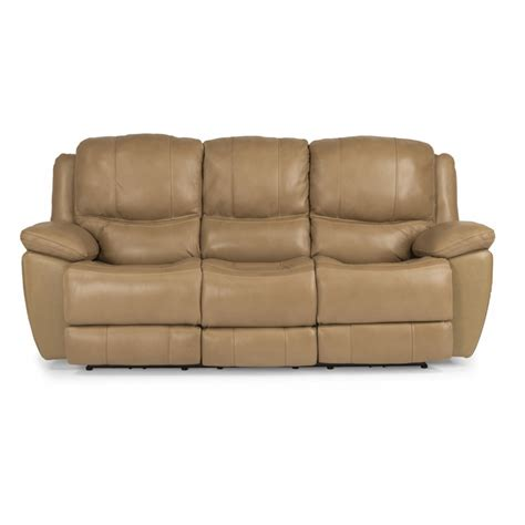 flexsteel reclining sofa flexsteel 1491 62p estella leather power reclining sofa