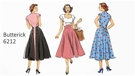 vintage pattern butterick pintucks new vintage pattern review butterick 6212 pop