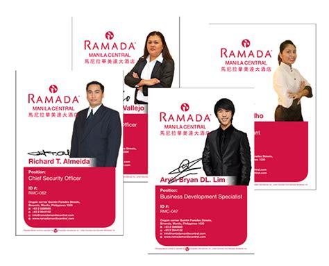 company id layout design ramada id creative design makati