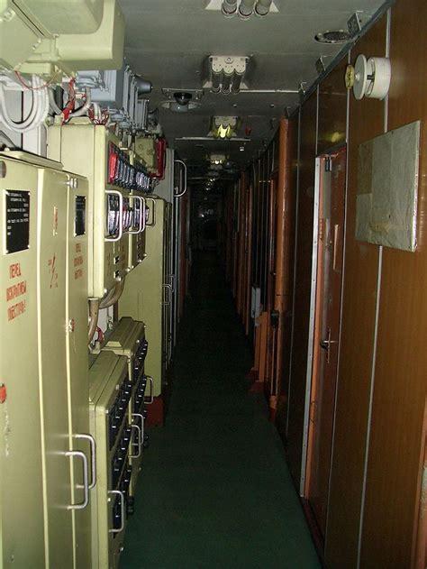 inside typhoon class submarine