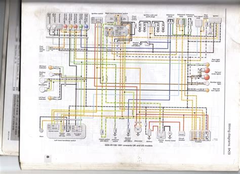 suzuki bandit 600 wiring diagram wiring diagram