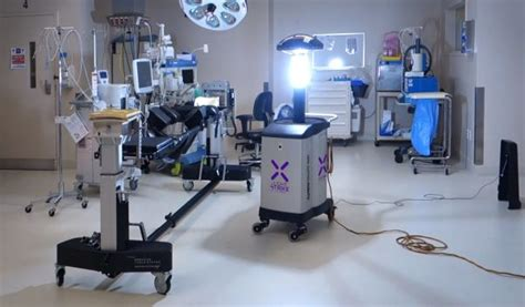 uv light cleaning equipment xenex raises 38m for germ zapping robots for research and