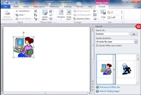 word 2010 clipart using clip in microsoft word 2010 software ask