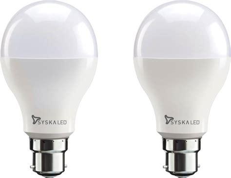 Cost Of Led Light Bulbs Syska Led Lights 18 W B22 Led Bulb Price In India Buy Syska Led Lights 18 W B22 Led Bulb