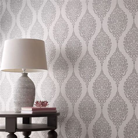 grey wallpaper house graham brown grey luna wallpaper 20 740 the home depot