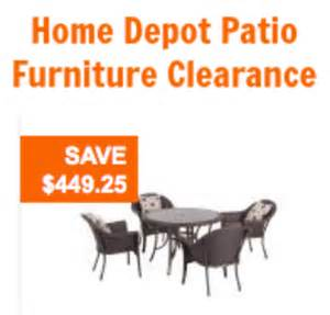 home depot clearance home depot patio furniture outdoor furniture