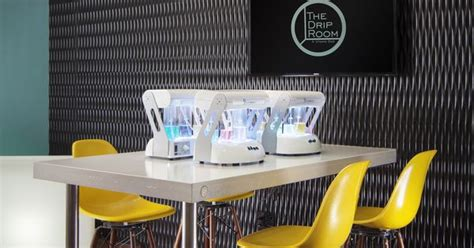 Detox Oxygen Bar by The Drip Room Concrete Oxygen Bar By Slabhaus Concrete
