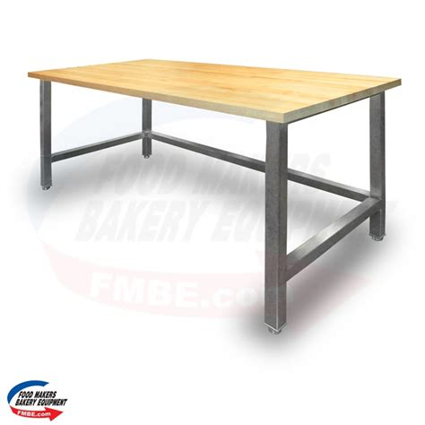 Top Table L by 30 Quot W X 60 Quot L Maple Top Table