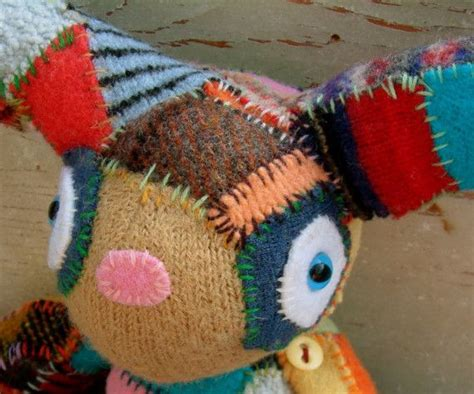 Patchwork Animals - 17 best images about stuffed animals 3 on