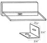 grass 22226 42 drawer bottom metal support brace zinc