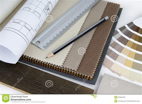 interior design works interior design worktable stock photography image 21654442