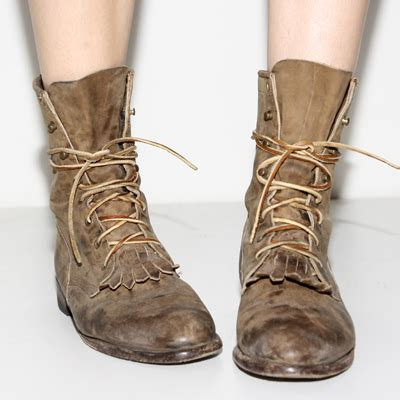 the right of boots vintage combats hey