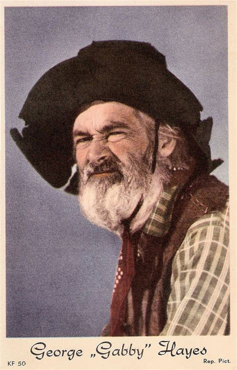 actor george hayes george gabby hayes dutch postcard no kf 50 photo