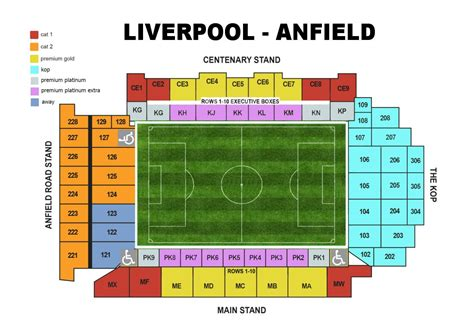 layout view c liverpool f c football club of the barclay s premier league