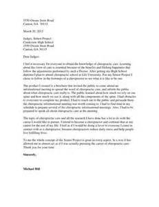 how to write a letter to a judge before my sentencing