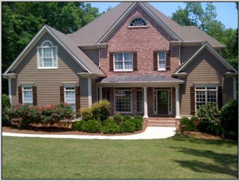 brick paint colors exterior paint colors with brick and photos