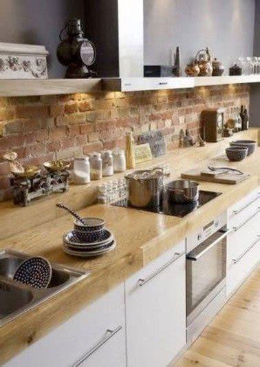 cuisine brique un mur en brique c est styl 233 en d 233 co de cuisine
