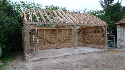 Build Garage Plans by Garages And Car Ports Oak Timber Framing Amp Carpentry In