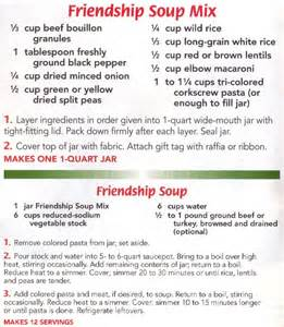 Friendship soup mix made this recipe tonight and it is so delicious