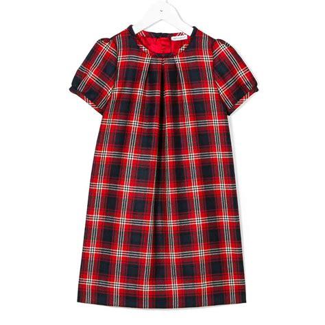 docce scozzesi dolce gabbana abito scozzese bambina annameglio