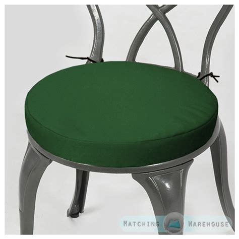 Waterproof Cushions Patio Furniture Round Garden Chair Cushion Pad Only Waterproof Outdoor
