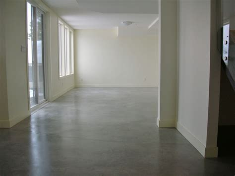 mode concrete basement concrete floors naturally look