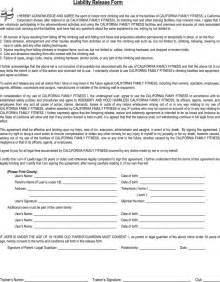 the california liability release form 1 can help you make