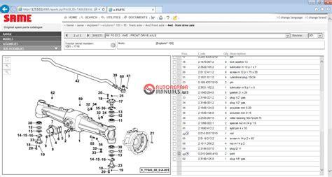Keygen Autorepairmanuals Ws Same Sdf Parts Amp Service 2012