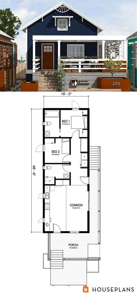 large tiny house plans 25 best ideas about shotgun house on pinterest small