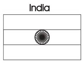 indian flag coloring page geography india flag coloring page