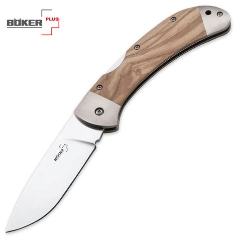 lightweight pocket knives boker plus olive wood lightweight lockback folding pocket