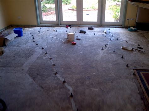 Garage Floor Drainage Solutions by Cracked Concrete Slab Asset Rehab Services Solutions For