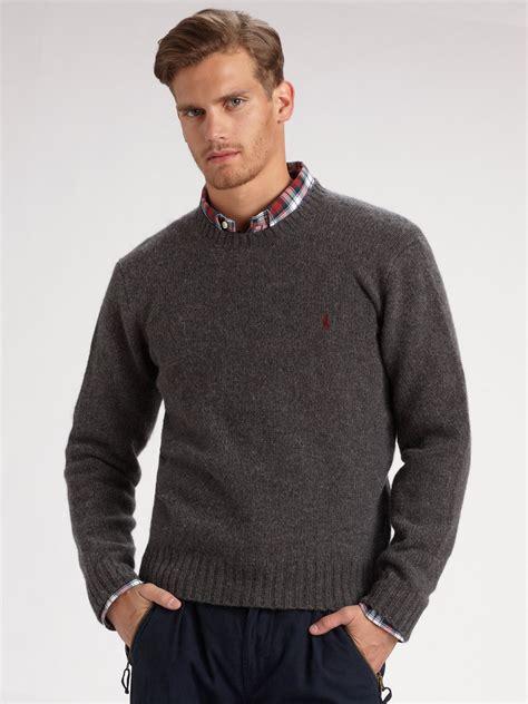 ralph mens crew neck sweaters