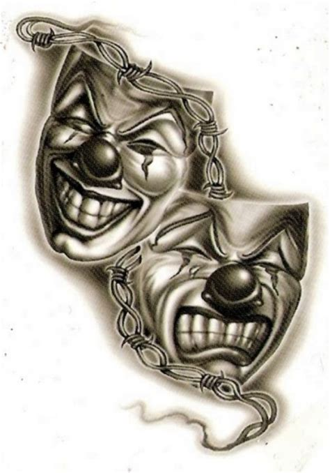 laugh now cry later tattoo design laugh now cry later joker tattos for