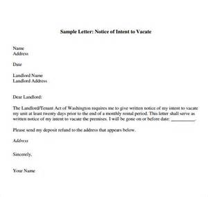 Notice Letter To Landlord Template by Landlord Move Out Letter Template Day 3 Documents Silver