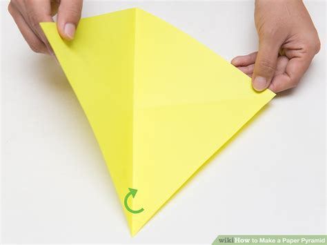 How Do You Make Paper Poppers - how to make a paper pyramid 15 steps with pictures