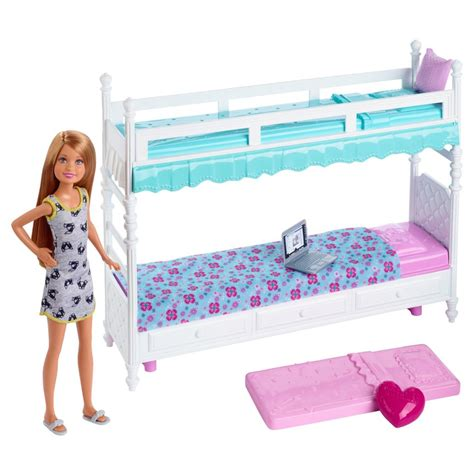 barbie bed barbie sisters stacie doll with bunk beds giftset barbie fashion accessory pack
