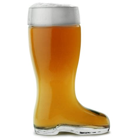 on a boat beer glass beer boot at drinkstuff