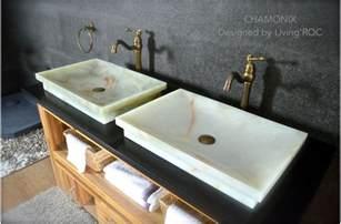 24 quot white onyx bathroom vessel drop in sink chamonix