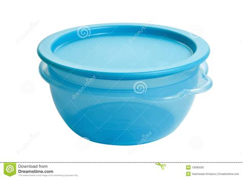 Teflon Tupperware plastic food container like tupperware stock photo image