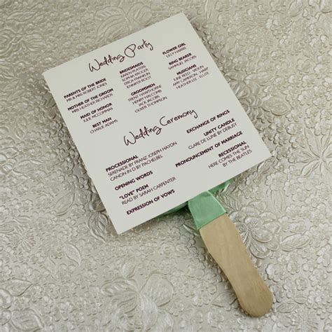free wedding fan templates diy wedding fan programs ehow ehow how to discover